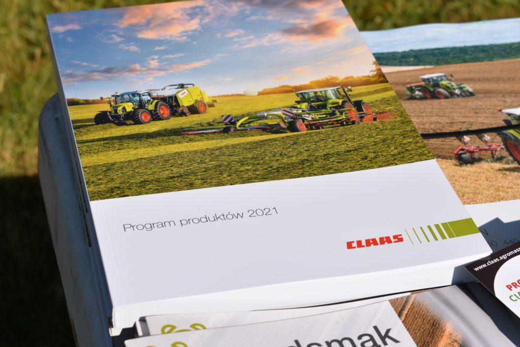 Katalog produktów claas 2021.