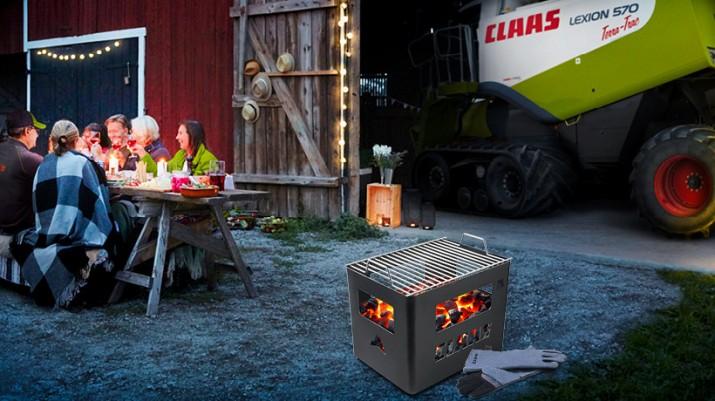 Skrzynka grillowa CLAAS za zakup części.