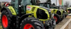Ciągniki CLAAS dostępne na wyprzedaży rocznika w firmie Agromasz Serwis.